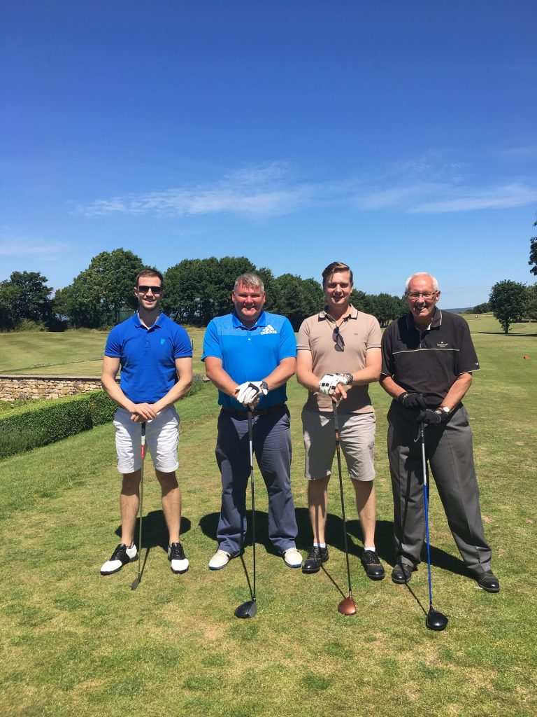 Burton & Fisher Charity Golf Winners